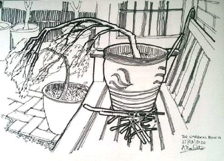Allan White, The Garden Bench