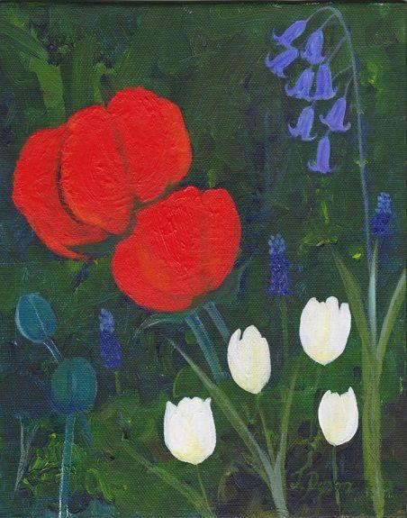 Jenny Dyson, Spring Flowers