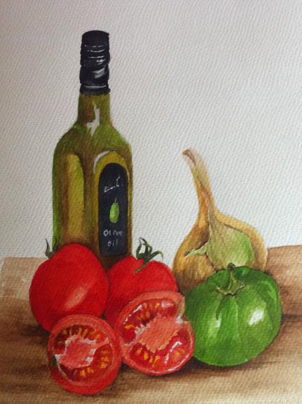 Margaret Richardson, Olive Oil