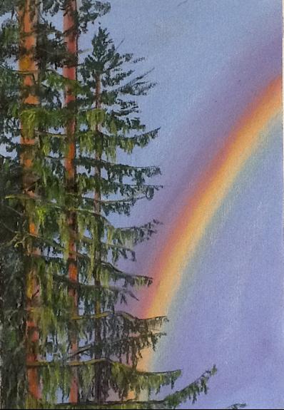 Margaret Richardson, Rainbow soft Pastels