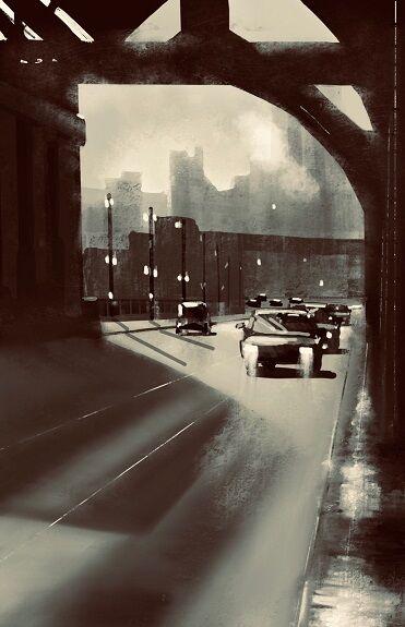 Tim Griffiths, Tyne Bridge