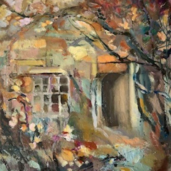 Karen Stott ' Doorway, Crook Hall'