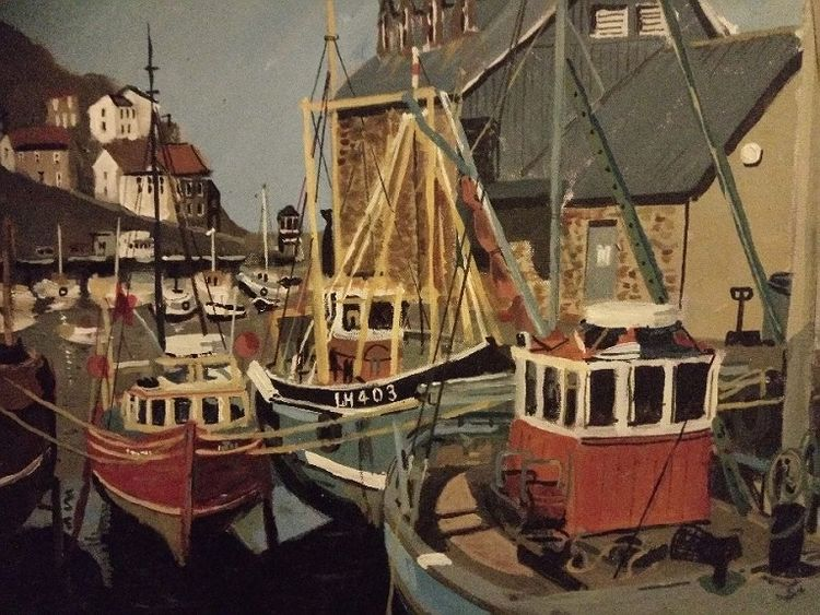 Fishing Boats by Brian Wilson
