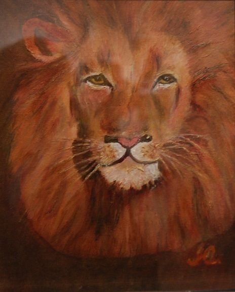Lion by Irene Ayre