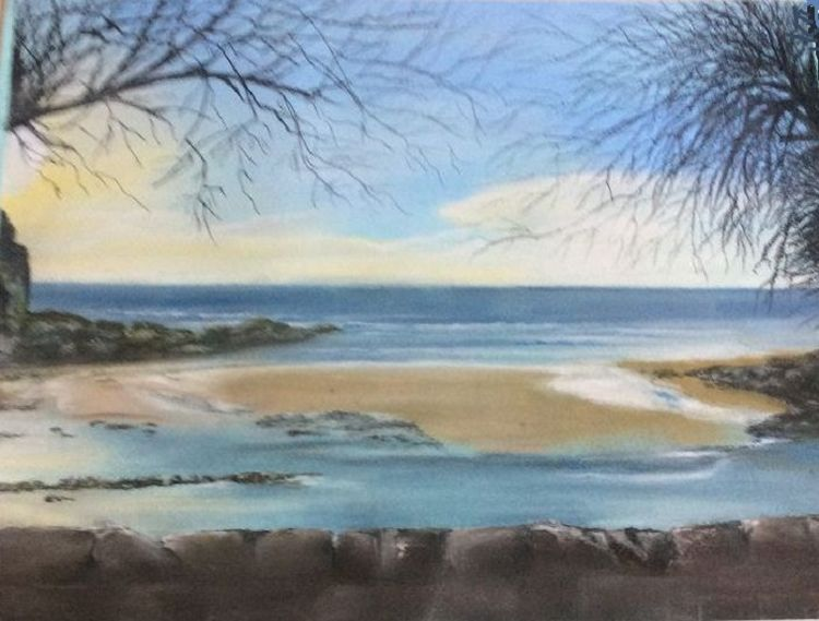 Summer Sun -pastel by Margaret Richardson