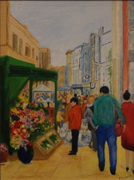 Northumberland Street by Pat Thompson