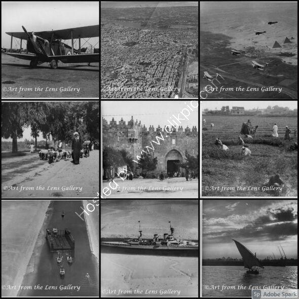 1930's memories of Egypt (set of 9 photographs)