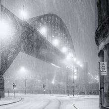 Snow and the Bridge