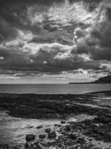Storm over Bamburgh Castle