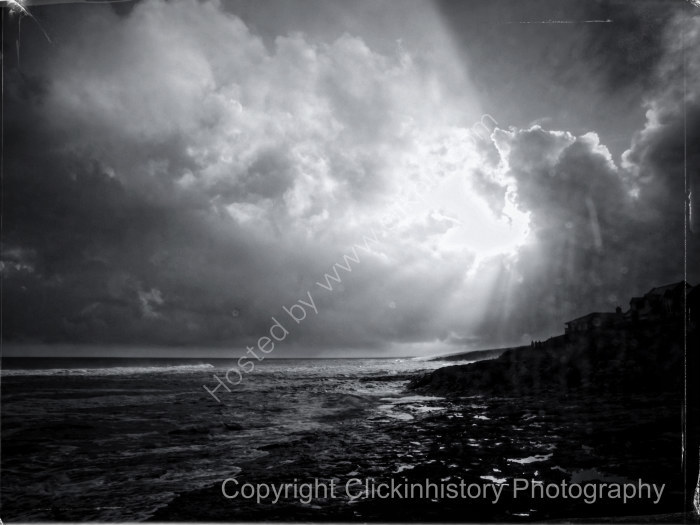 Craster storm clearing