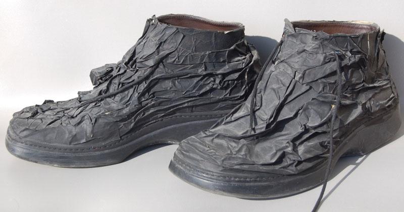 Black Boots mixed media size 42 2003