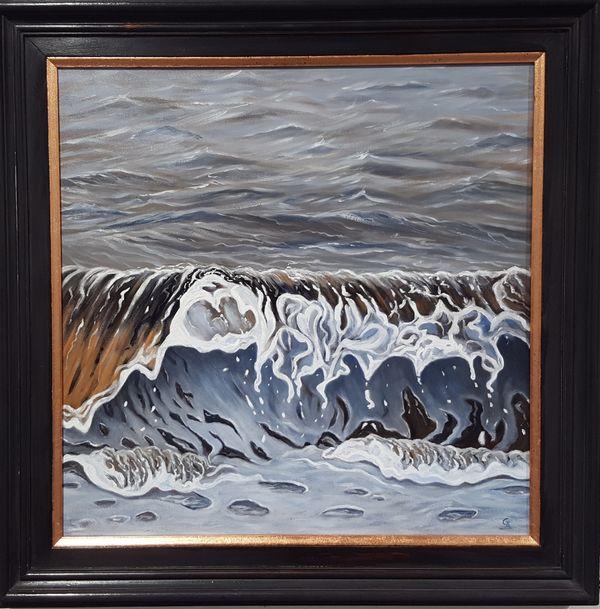 Gentle Wave (framed)