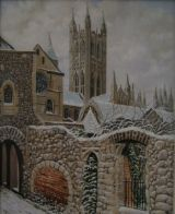 A COLD DAY AT CANTERBURY            (SOLD)
