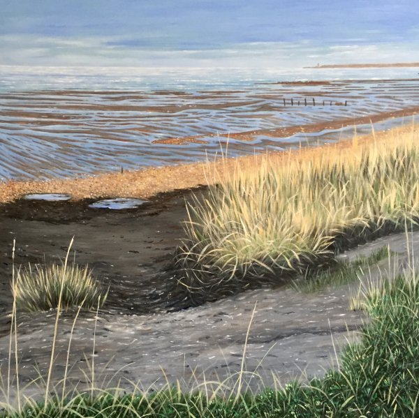 Seasalter, A winter's walk (SOLD)