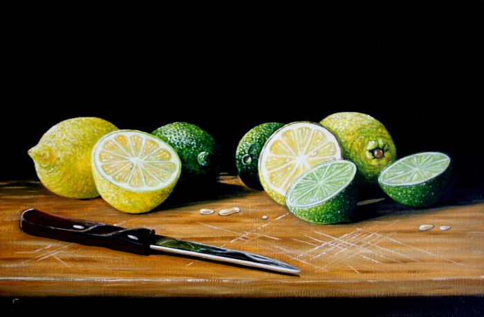 Lemons and Limes                (SOLD)