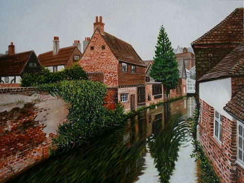 THE WEAVERS, CANTERBURY              (SOLD)