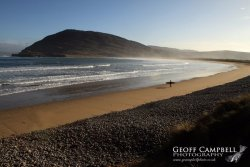 Lone Surfer in Donegal