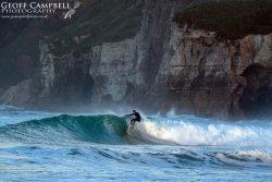 Surfing North Antrim