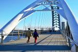 #D138 - Pedestrian bridge.