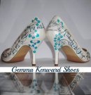 Kimberley and Adams Wedding Shoes