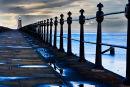 Tynemouth Pier Lighthouse & Railings