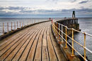 Whitby pier colour