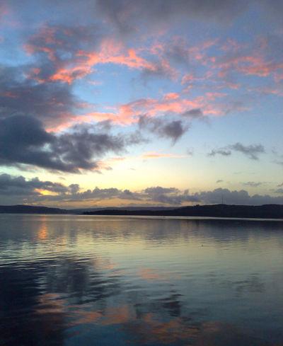 Clyde sunset