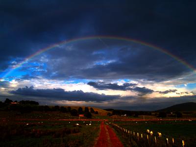 Rainbow at Mungrisdale