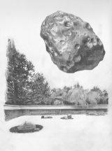 Asteroid 21 Lutetia (concept sketch)