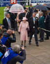 The Queen on Derby Day