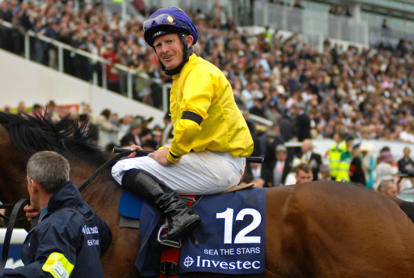 Mick Kinane on Sea the Stars