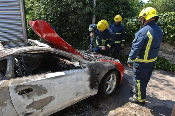 Car Fire, Bristol
