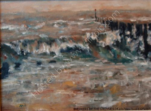 BREAKERS BY THE GROYNES