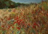 POPPIES BY THE CORNFIELD
