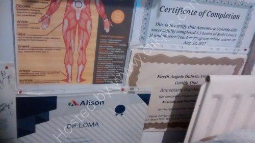 Emotional Pain Chart & Certificates