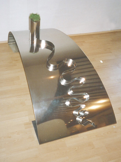 195-Stainless Steel Sculpture 1