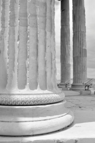 Acropolis column, Athens