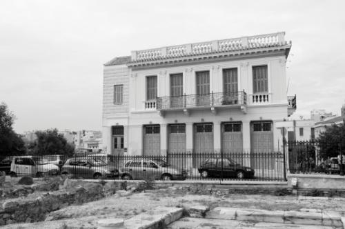 Outside of Roman Agora, Athens