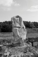Statue, Ancient Agora, Athens