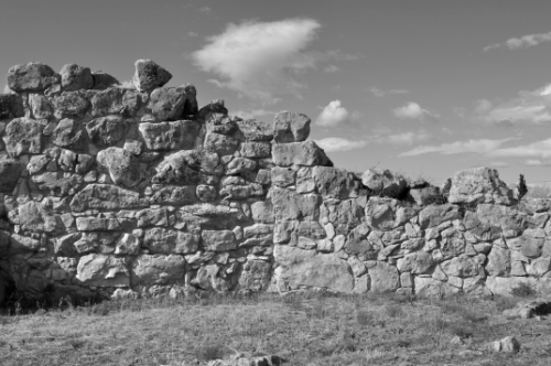 Walls of ancient Tiryns