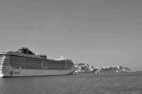 Cruise Ship, Valletta