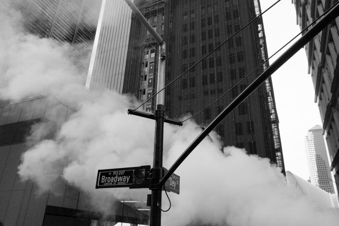 Corner Broadway and Dey Street, Lower Manhattan, Manhattan