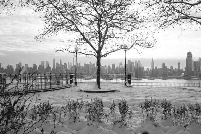 Manhattan Skyline from Weehawken, New Jersey