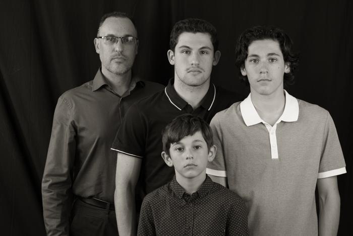 Zois, Evan, Lukas and Athan