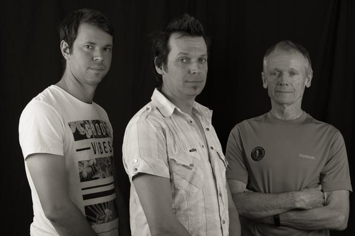 Ben, Luke and Peter