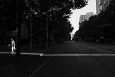Swanston Street, Melbourne, 2018