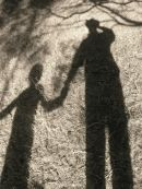 My shadow, my son, Rye 2009