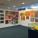 Bananas Art Group at Art as Therapy Exhibition, 2015