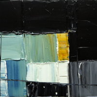 blkgr24, 20x26x1.6cm, oil on canvas, 2014