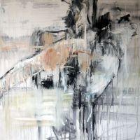 figure study 235, 2013, 100x100x3.6cm, acrylic on canvas, SOLD (UK)